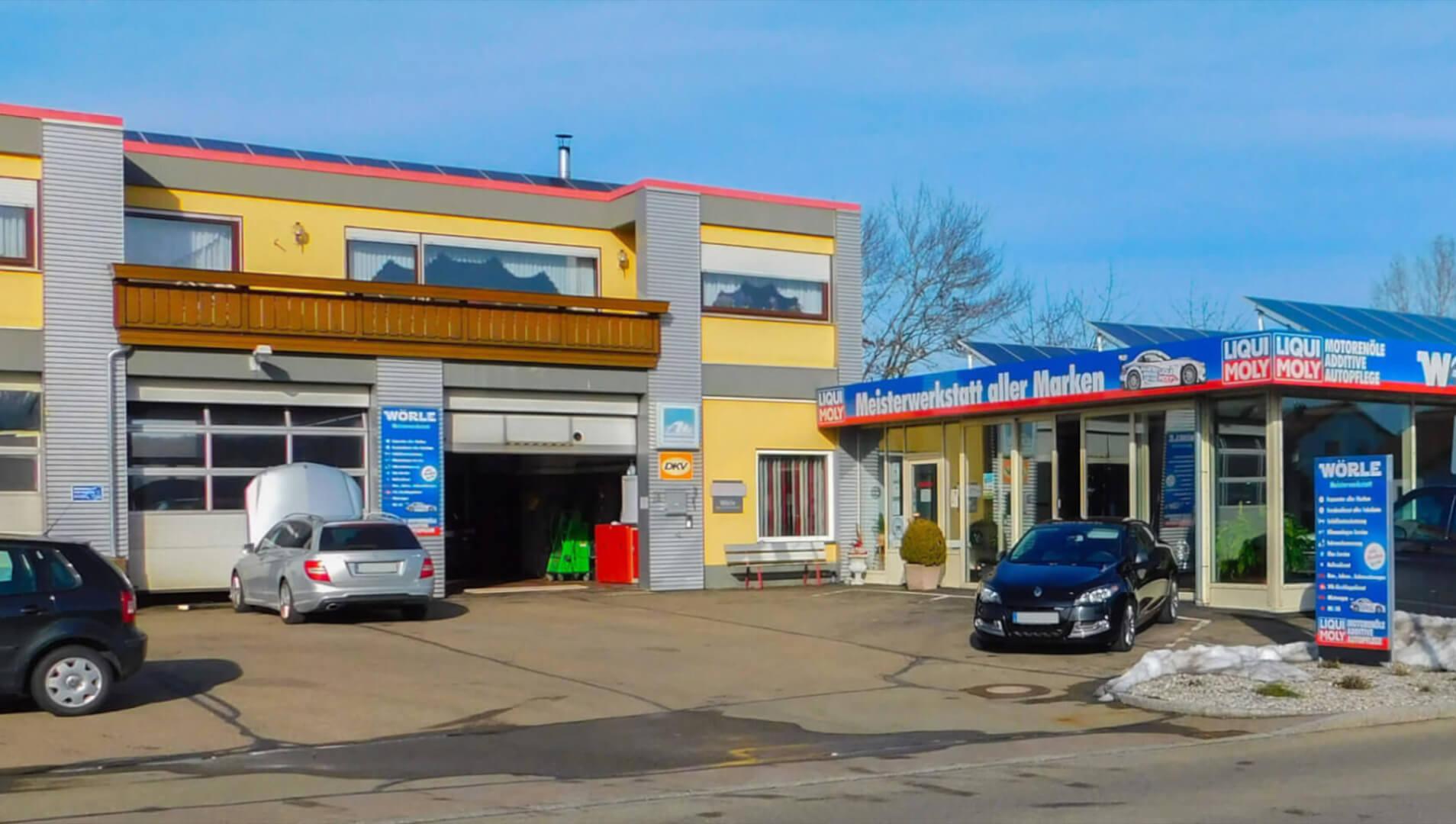 Meisterwerkstatt für moderne Verbrenner, Oldtimer und ElektrofahrzeugeAutohaus Wörle